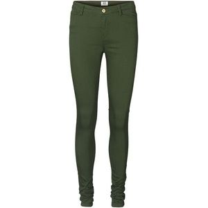 Vero Moda mid rise skinny Jean in emerald green